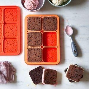 NWT Pampered chef ice cream sandwich maker